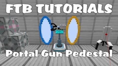 Portal Gun Pedestal