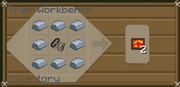 Iron firebox