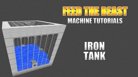 Feed The Beast Machine Tutorials Iron Tank