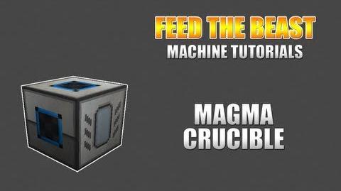 Feed The Beast Machine Tutorials Magma Crucible