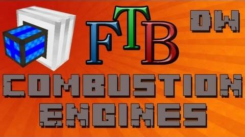 Learning How to Use Fuel With Combustion Engines Feed The Beast Tutorial - Ep