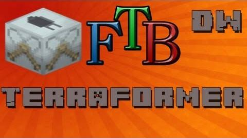 How To Use The Terraformer Feed The Beast Tutorial - Ep