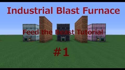 Industrial Blast Furnace Feed the Beast Ultimate Tutorial 1 (Minecraft) Deutsch HD