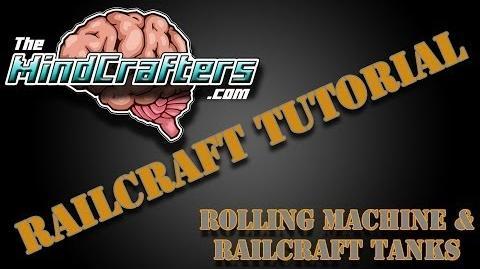 Railcraft Tutorial Rolling Machine & Railcraft Tanks-1