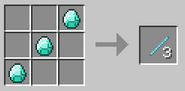 Craft diamond shaft unit