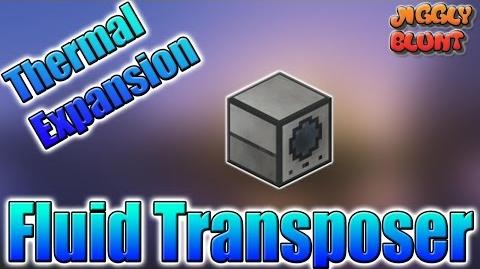 Fluid Transposer (Thermal Expansion) Minecraft Mod Tutorial