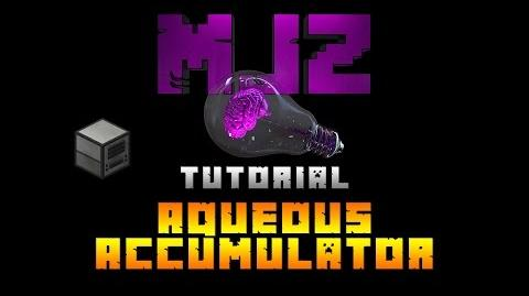 Minecraft Tutorial- Aqueous Accumulator
