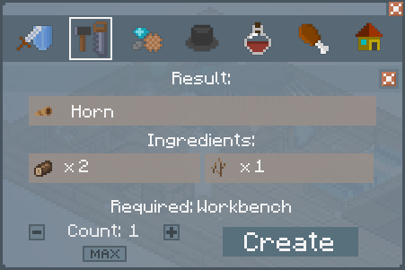 File:Horn - Crafting Screen.png