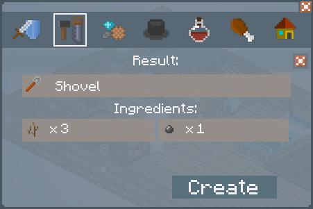 File:Shovel - Crafting Screen.png