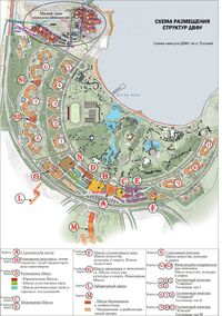 Карта кампуса ДВФУ