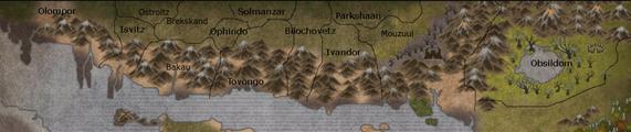 Blessed lands