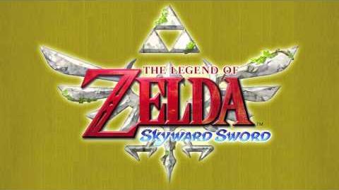 "Zelda Skyward Sword Music - Harp ""Ballad of the Goddess"""