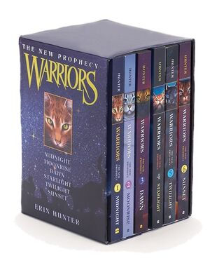 Warriors new prophecy box set