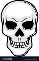 Skull-retro-tattoo-symbol-cartoon-old-school-vector-10745967