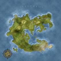 The Continent Map of Sylvereos