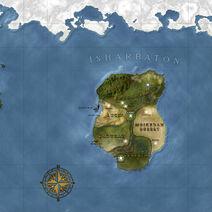 The Continent Map of Isharbaton