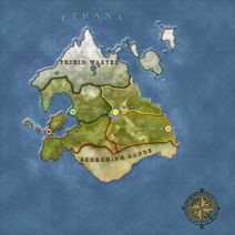 The Continent Map of Etrana