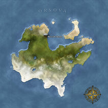 The Continent Map of Orsova