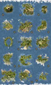 Felor Flat Map-Mini