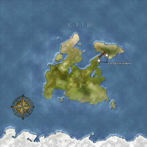 The Continent Map of Utir