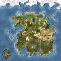 The Continent Map of Vateric