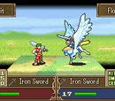Pegasus Knight with Sword Animation