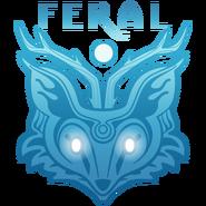 Feral logo