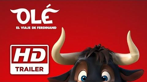Olé, el viaje de Ferdinand Primer trailer doblado