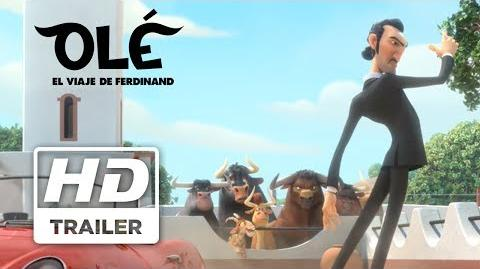Olé El Viaje de Ferdinand Trailer 2 doblado