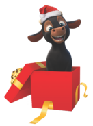 Ferdinand Christmas Render