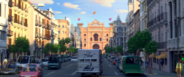 Road to Plaza de Toros