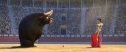 Ferd and the matador