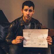 Nick Jonas Cover Art