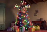 Maquina as Christmas tree