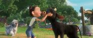 Ferdinand is Nina's good boy (2)