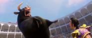 Ferdinand bellowing in pain