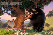 Ferdinand stting under the cork tree