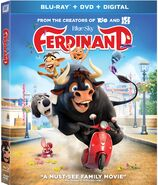 Ferdinand Blu-ray DVD Combo Cover