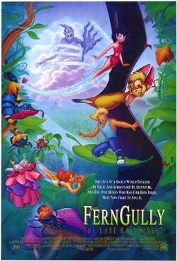 Ferngully- The Last Rainforest (1992) Poster