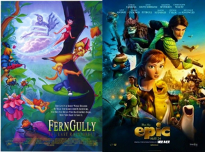 Ferngully the Last Rainforest - Epic (1992 - 2013) Posters
