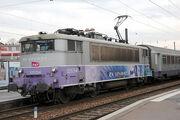 BESANCON- Départ de la 25234 pour Lyon.