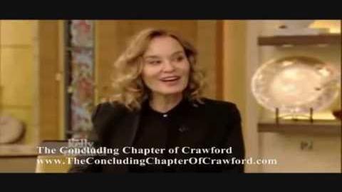 "Jessica Lange Discusses Joan Crawford ""FEUD"""