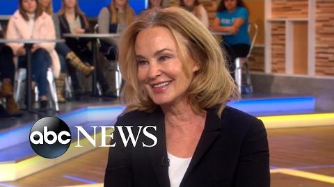 Jessica Lange dishes on 'Feud Bette and Joan' live on 'GMA'