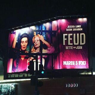 Billboard in New York