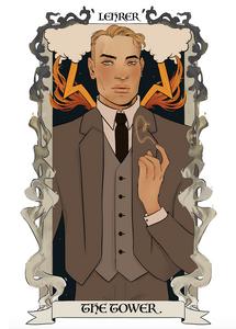 Lehrer Tarot Card
