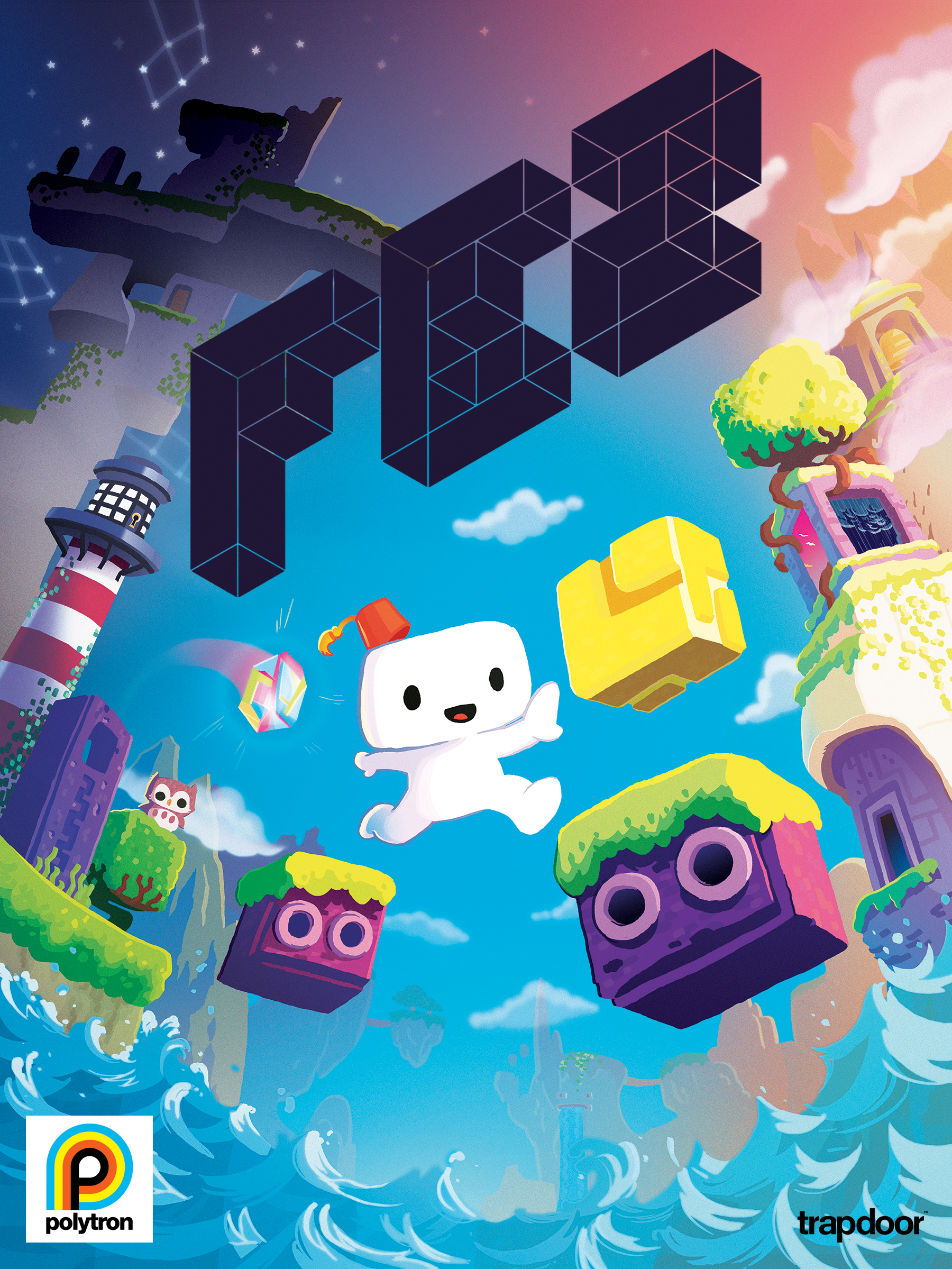 Captivating Fez (video Game) Cover Art