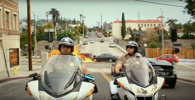 chips review dax shepard michael pena