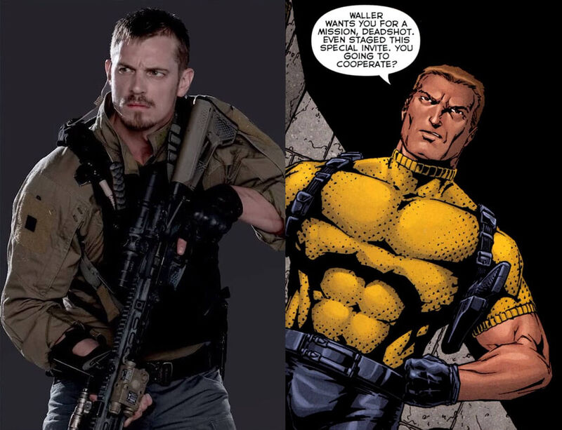 Rick Flag Suicide Squad Comics Movie Comparison