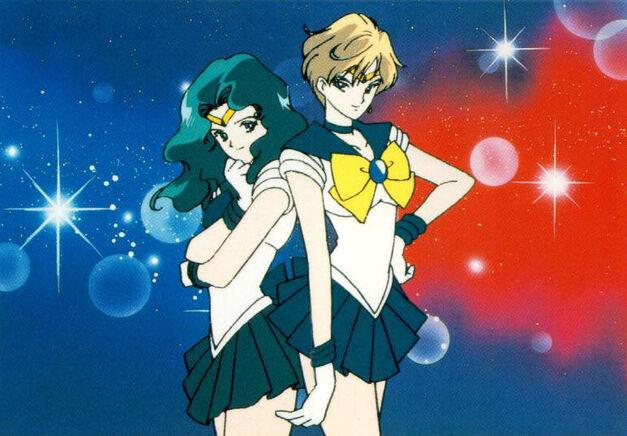 Viz Media Sailor Moon Uranus Neptune