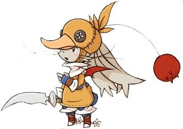 Moogle Chocobo Knight